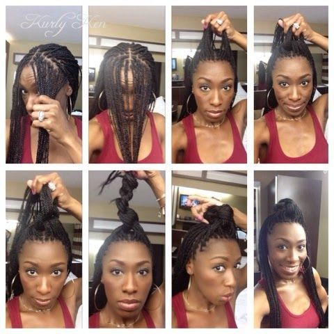 10 Gorgeous And Creative Box Braid Pictorials Braided Hairstyles Updo Box Braids Hairstyles Box Braids Styling