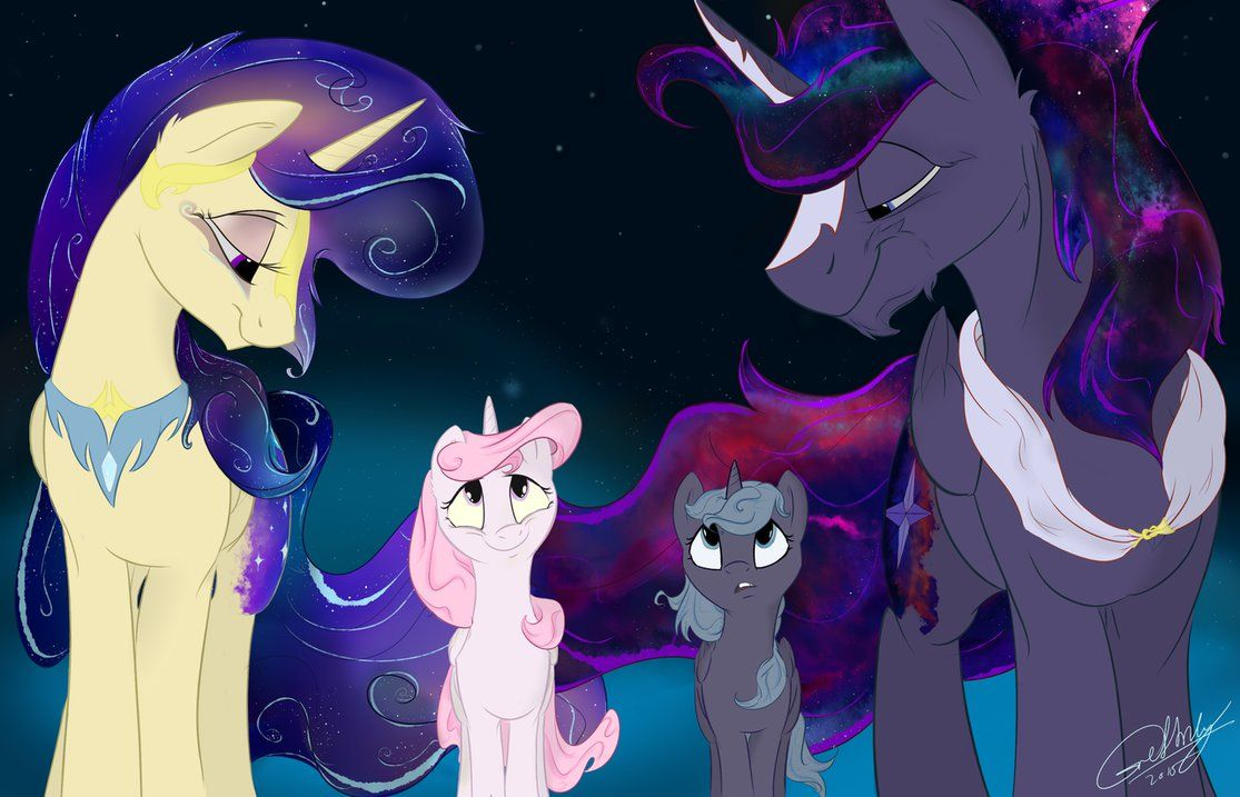 The Royal Family By Grethzky On Deviantart Ponies Mlp My