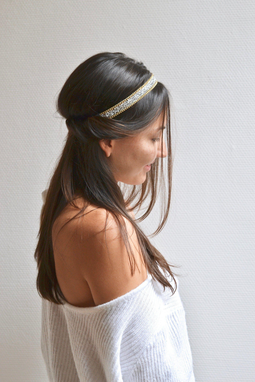 ELEGANCE Femmes Fille Cristal Bandeau Cheveux Bandes Fashion Robe Accessoires