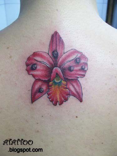 Pin Cattleya Tatuajes De Flores Enredadera Subiendo El Tobillo Picture Flower Tattoos Maple Leaf Tattoo Leaf Tattoos