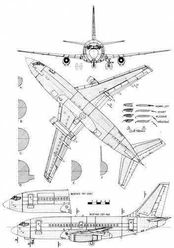 Boeing 737 Blueprints Aircraft Design Boeing Aircraft