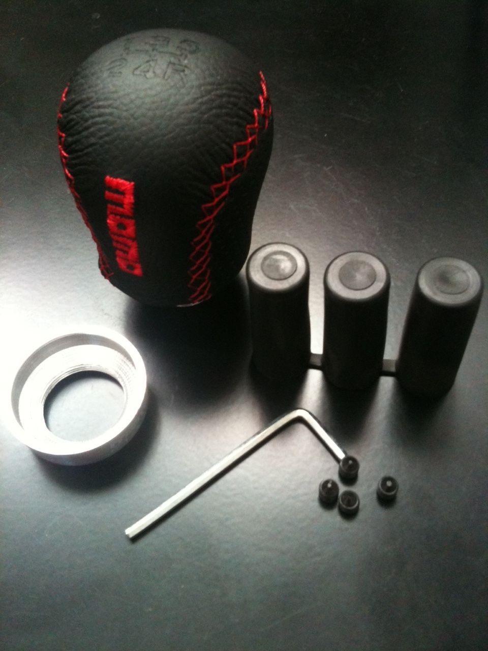 Shift Knob Carbon Fiber 5-Speed Universal Manual MT