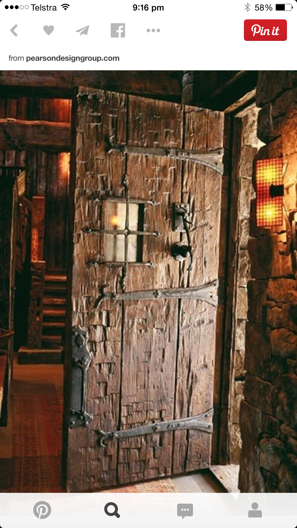 Rustic Door Knockers Pin By Kez Vonarx On Ideas For The House Pinterest