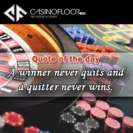 Quote Of The Day A Winner Never Quits And A Quitter Never Wins