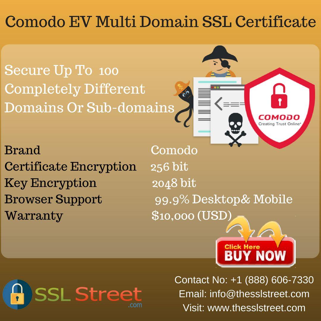The Comodo Ev Multi Domain Ssl Certificate Is That The Best
