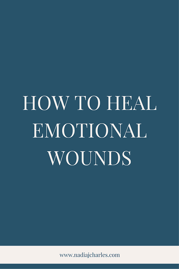 How to Heal Emotional Wounds | Nadia J Charles | Clinical Hypnotherapist & Life Coach