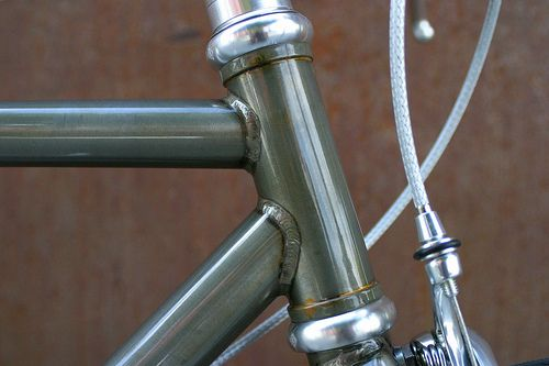 Clear Powdercoat Over Raw Welded Steel Bmx Bike Frames Bike