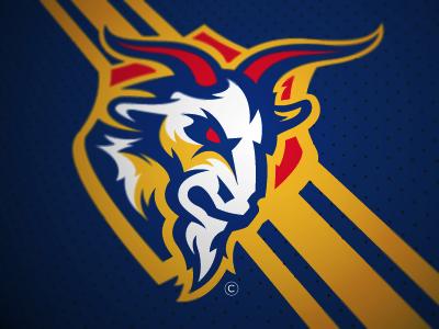 Las Cabras Fantasy Football Logo Fantasy football logos