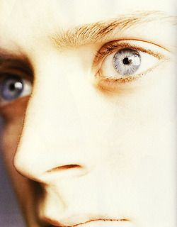 Elijah's eyes!