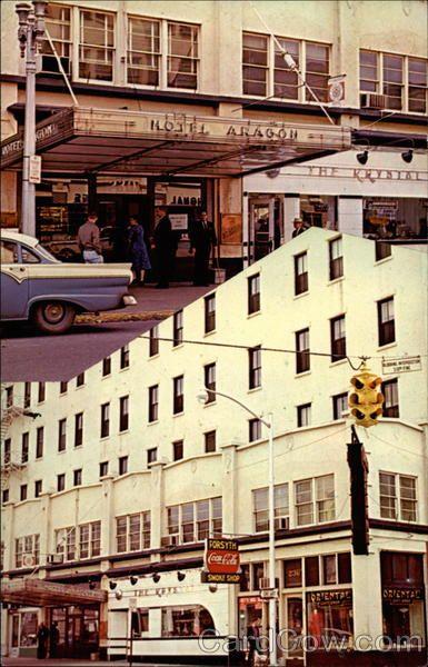 Aragon Hotel 230 W Forsyth Street Jacksonville Fl With Images