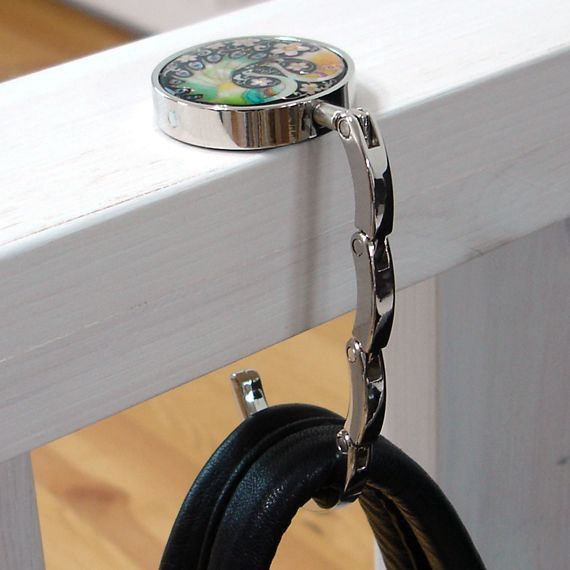 This Foldable Purse Hook Is Great To