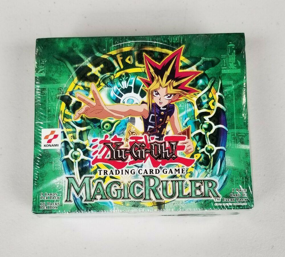 2002 yugioh magic ruler mrl booster box sealed english