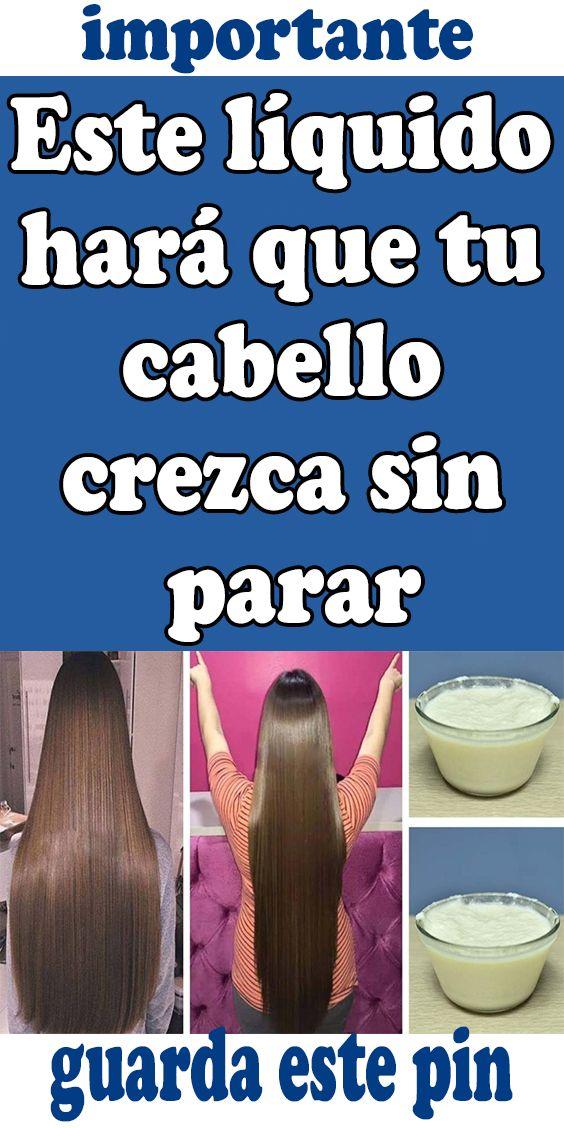 Este líquido hará que tu cabello crezca sin parar