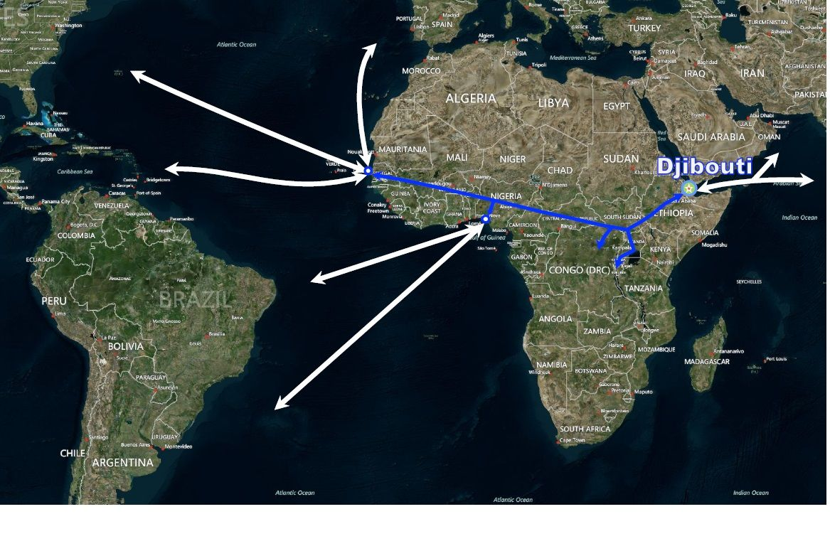 Trans African Railways Djibouti Dakar DPFZA Trans African Railways