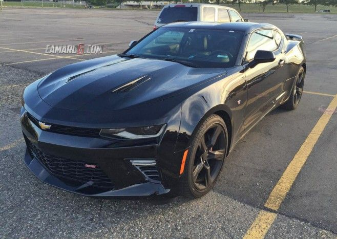 Great Look At The 2016 Chevy Camaro In Black Camaro6 6th