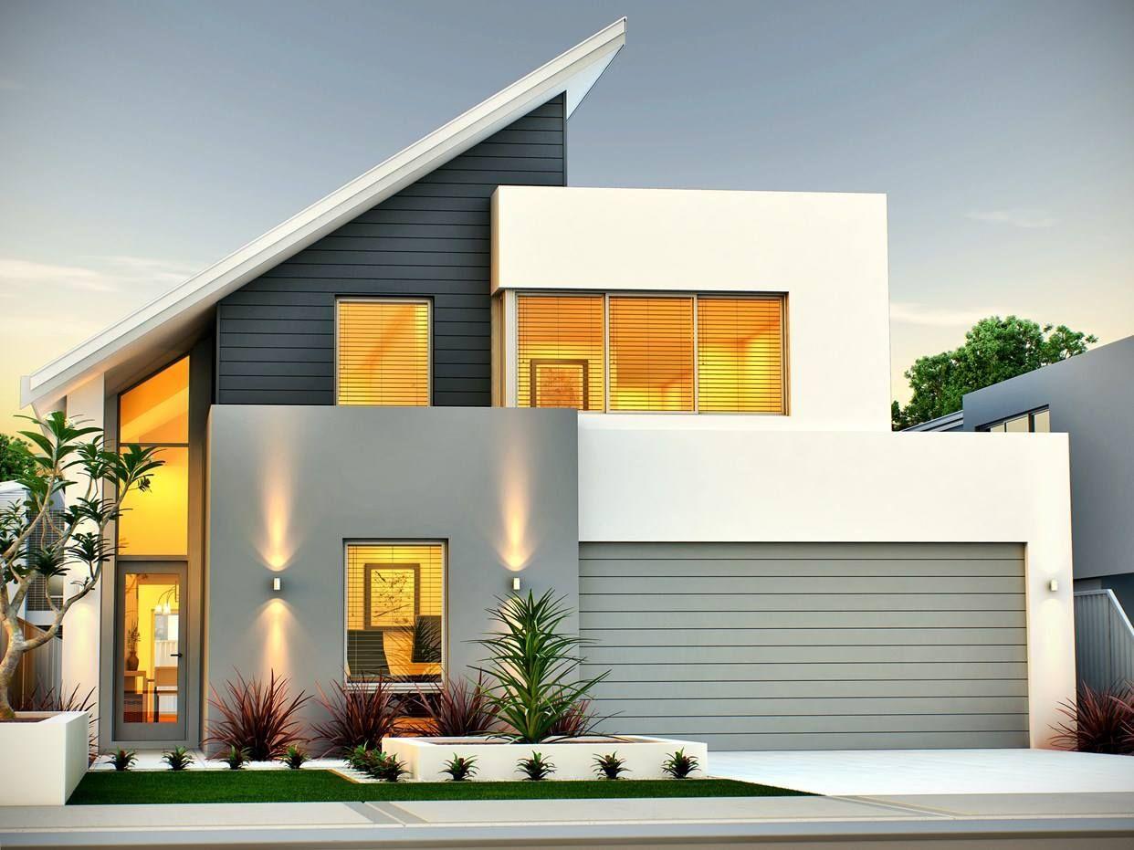 1 Facebook Contemporary House Design House Designs Exterior Facade House