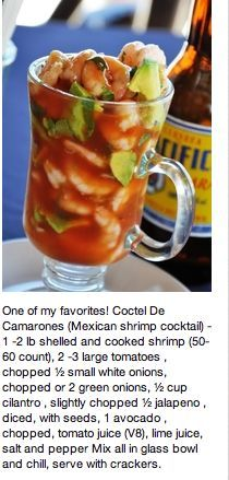 Easy Make Ahead Christmas Appetizers Recipes - Prawn Cocktails #mexicanshrimprecipes