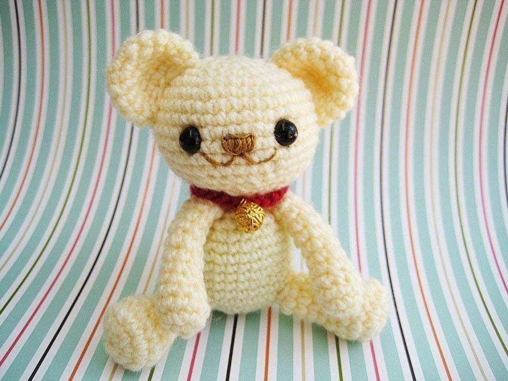 Amigurumi Crochet Patterns Teddy Bears : Pdf amigurumi crochet pattern teddy bear milo anime welcome to