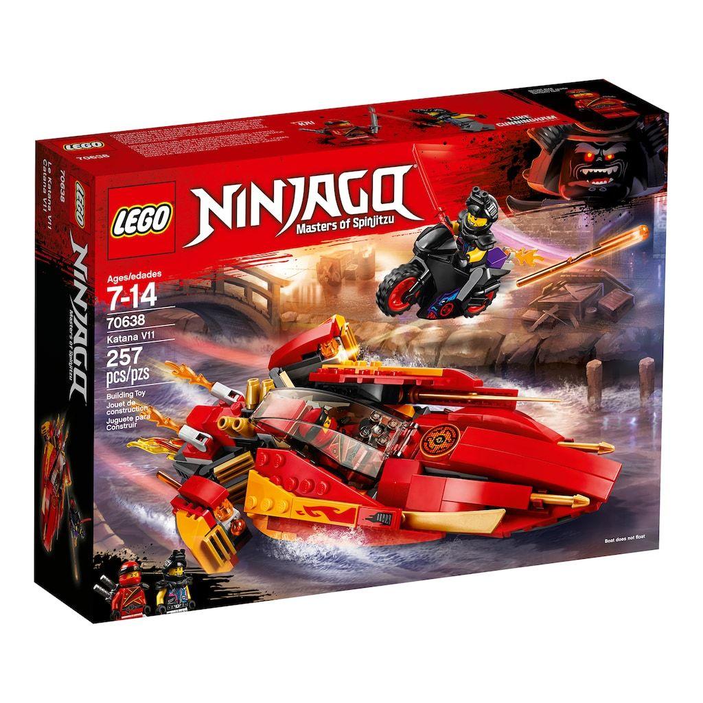 LEGO Ninjago Ultra Violet Oni Mask of Hatred Motorcycle 70641 Sons of  Garmadon
