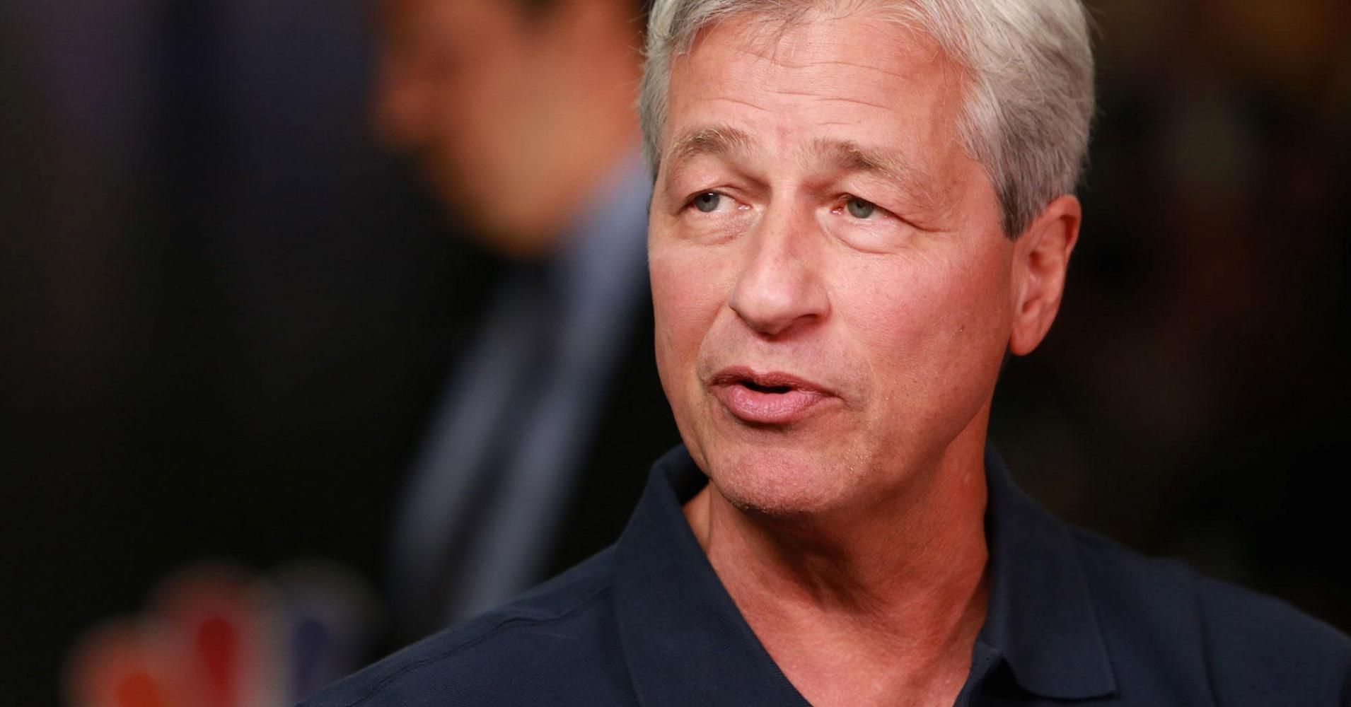 Look at CEO Jamie Dimon speaks on the