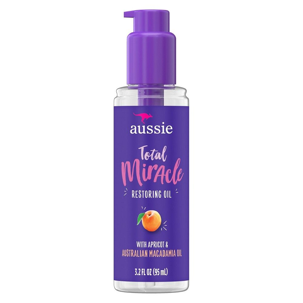 Aussie total miracle restoring oil with apricot 32 fl