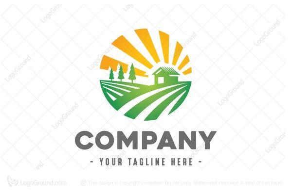Logo for sale: Farm Field Logo