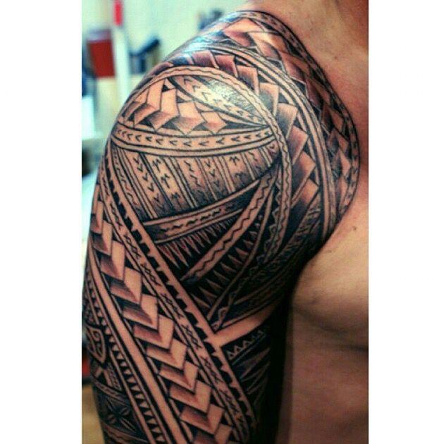 Polynesian Sleeve Maori Tattoo Norwegian Tattoo Hawaiian Tattoo