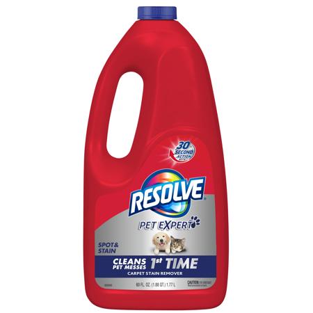 Resolve Pet Stain Odor Carpet Cleaner Refill 60oz Bottle White In 2020 Stain Remover Carpet Carpet Cleaners Carpet Stains