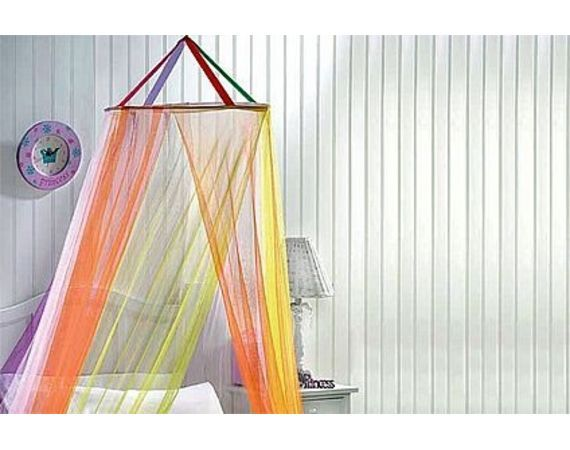 Kid's room - made with a hula hoop.