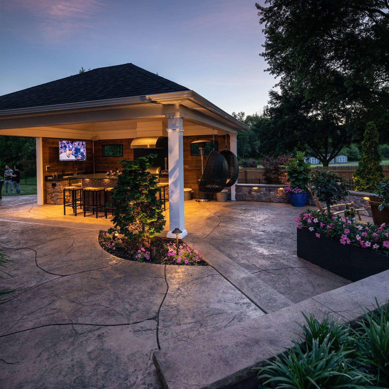 Stamped Concrete vs. Concrete Pavers « MasterPLAN Outdoor ... on Masterplan Outdoor Living id=92946