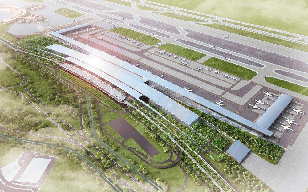 Soekarno Hatta International Airport Terminal 3 Winning Proposal - construction project proposal