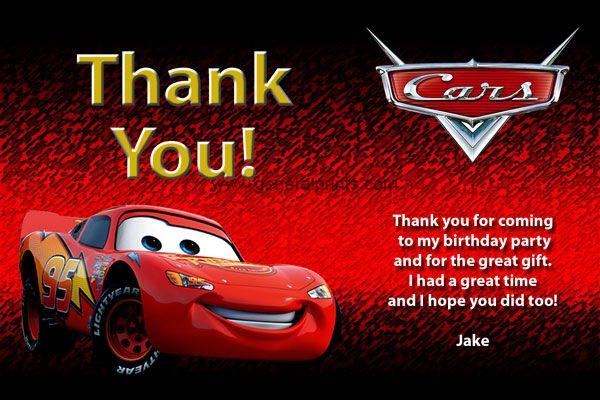 Disney Cars Invitations Lightning Mcqueen Mater Cars Invitation Cars Birthday Invitations Disney Cars