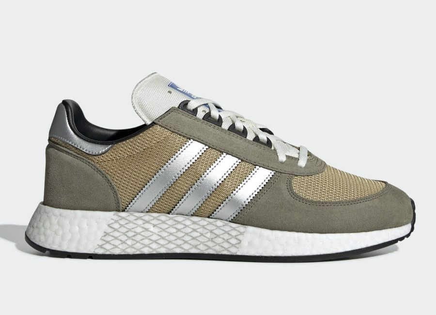 Adidas Marathon Tech Shoes Trace Cargo Silver Met Raw