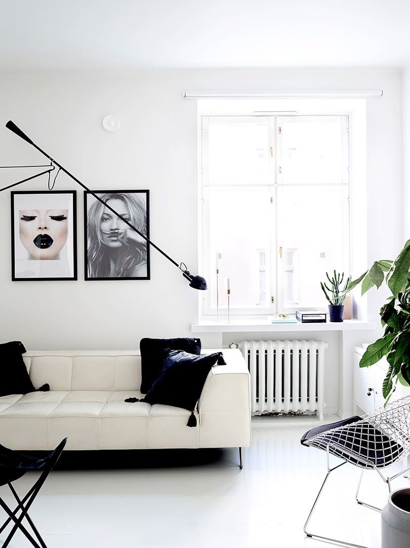 A Clean Monochromatic Apartment In Helsinki Gravity Home