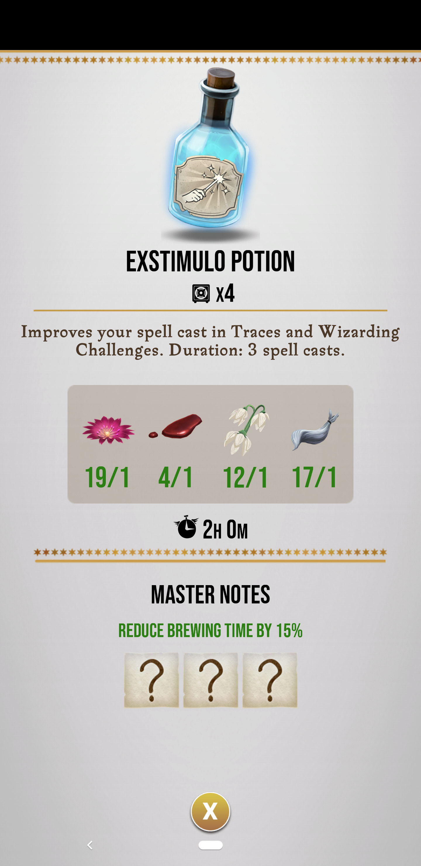 Potion Master Notes Not Saving I Ve Done It Multiple Times Successfully Where It S Sped Up My Brewing But It Stil This Or That Questions Brewing Question Mark
