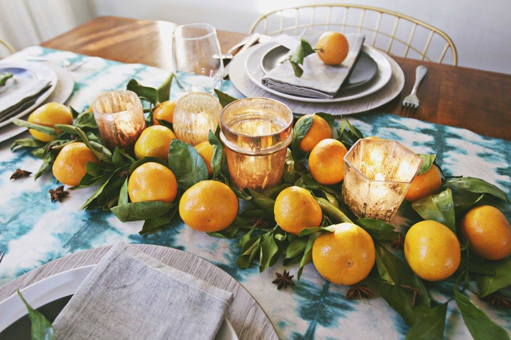 Autumn Brights, Sweets + Spice : How to Set A Modern Thanksgiving ...