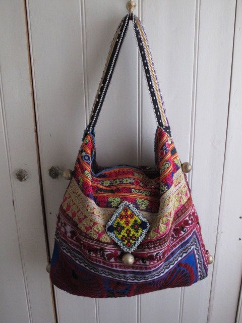 beautiful handmade banjara tribal bag by shopgypsyriver on Etsy, $150.00