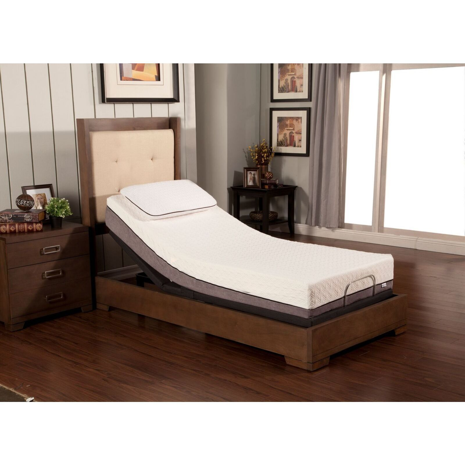 Sleep Zone Huntington 10inch Memory Foam Mattress and
