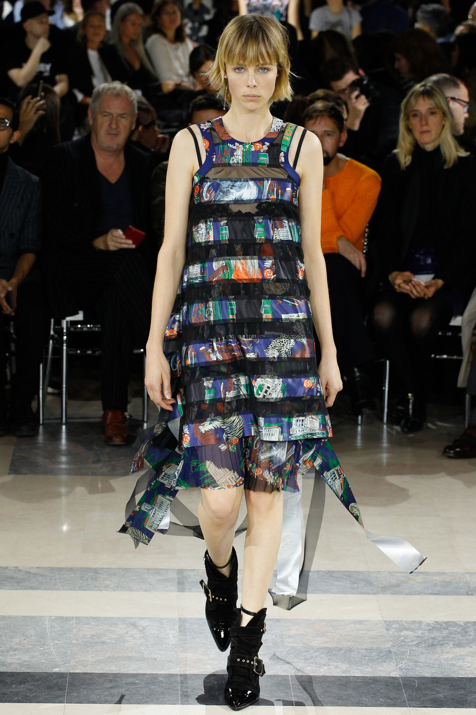 Sacai Spring 2016 Ready-to-Wear Collection Photos - Vogue  http://www.vogue.com/fashion-shows/spring-2016-ready-to-wear/sacai/slideshow/collection#9