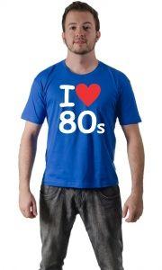 Camiseta anos 80