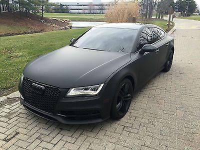 Car Detailing Prices >> 2012 Audi A7 Quattro Prestige, MATTE BLACK WRAP, S-LINE ...