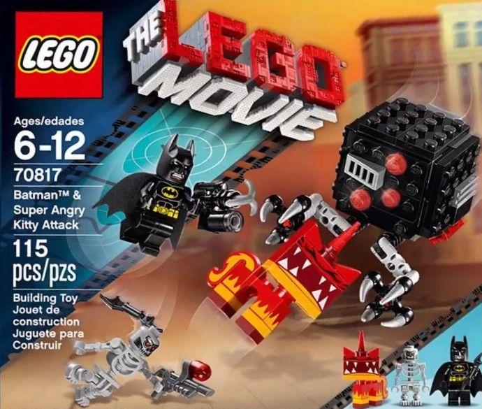 70817 1 Batman Super Angry Kitty Attack Lego Movie Sets Lego Movie Batman Toys