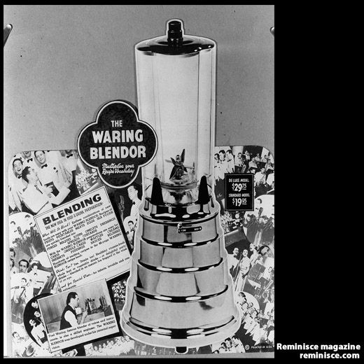 Who Invented The Blender ~ Waring blender mixes up years of memories the