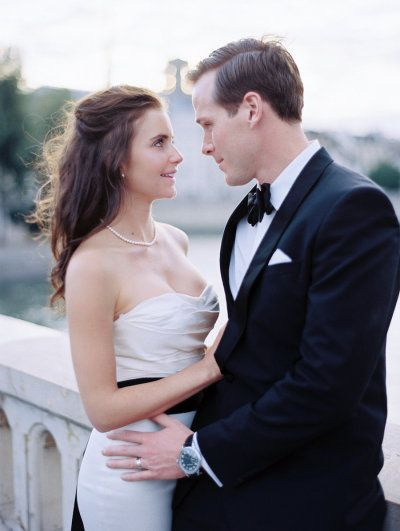 Paris Wedding by www.oneandonlyparisphotography.com and www.lesecretdaudrey.com Photography by oneandonlyparisphotography.com  Read more - http://www.stylemepretty.com/2013/08/15/chic-paris-elopement-from-one-and-only-paris-photography/