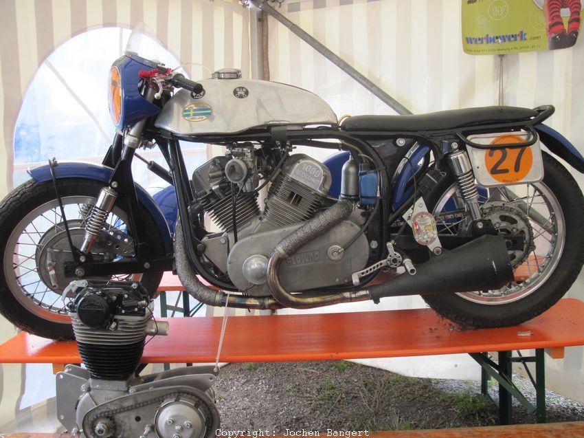 Hedlund V2 1000cc Strassenrennsport Gespann   warpdrive ...