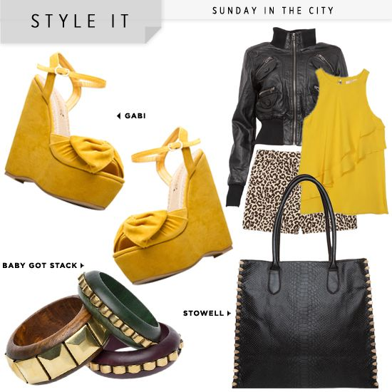 love this outfit! i love mustard!
