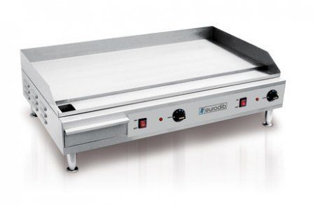 Eurodib Sfe04910 Heavy Duty Electric Countertop Griddle With 05 Plate 36 Electric More Info Electric Griddle Electricity Griddles