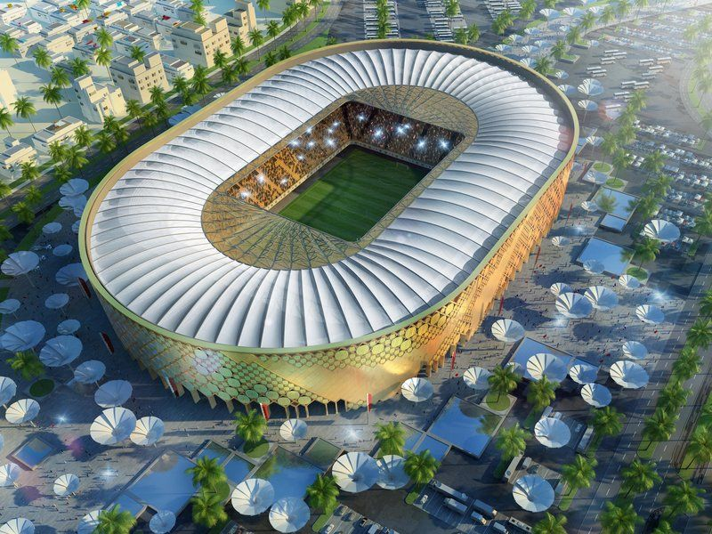 Pin By Myrna Mendez On Stadiums Around The World World Cup Stadiums Qatar Stadium World Cup 2022