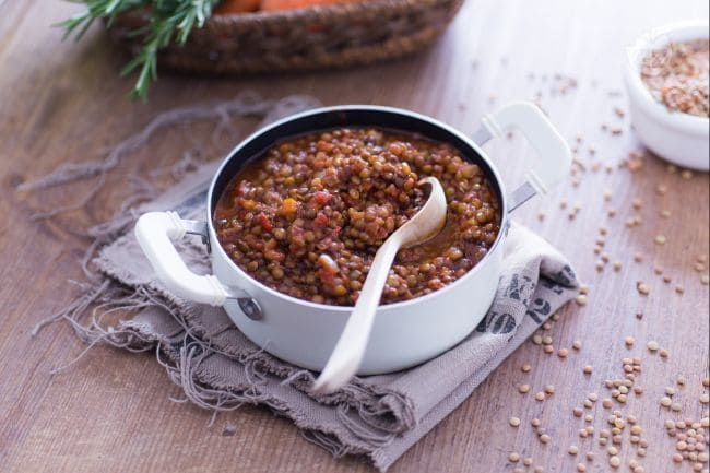 Photo of Lentil ragout-Ragù di lenticchie  Lentil ragù is an excellen…