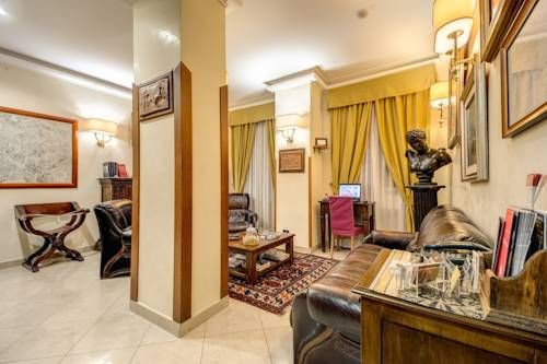 Hotel Gea Di Vulcano Roma Situated on the elegant Via Nazionale street in Rome, the hotel is at walking distance from sites such as the Colosseum and Trevi Fountain. WiFi is free throughout.  The Spanish Steps, Campidoglio and other important landmarks are also close by.